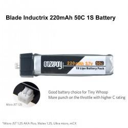 Bateria Lipo 220mAh 50C 1S...